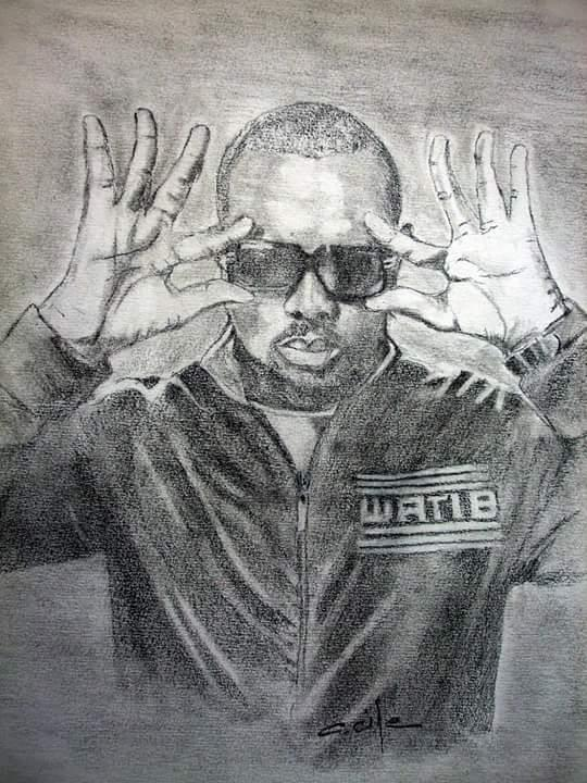 Maître Gims by C-cile